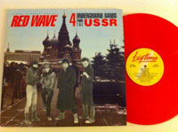 RED WAVE. 4 UNDERGROUND BANDS FROM THE USSR, produced by Joanna Stingray for Big Time Records, 1986.